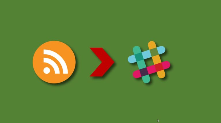 Integrating RSS feeds to Slack (including YouTube)