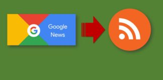 Google News to RSS