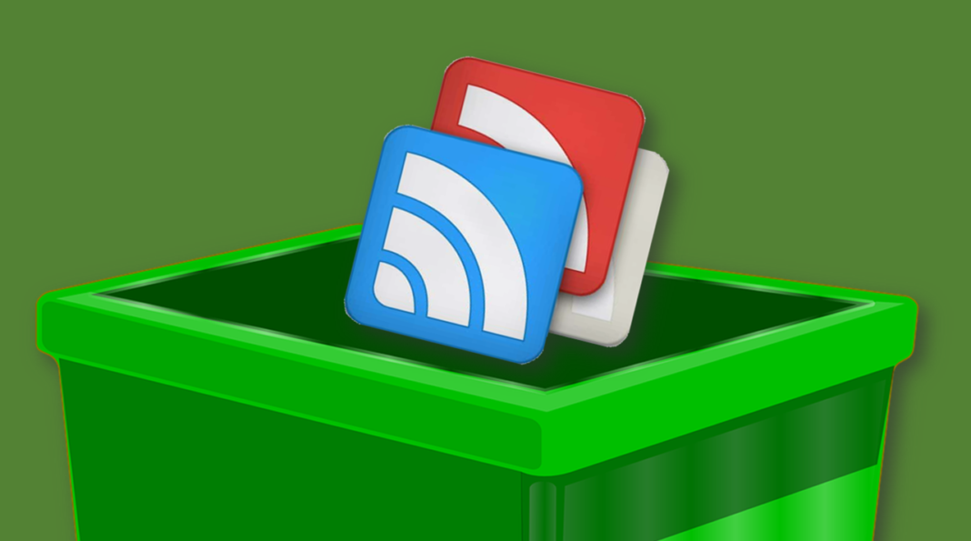 Google Reader - Trash Bin